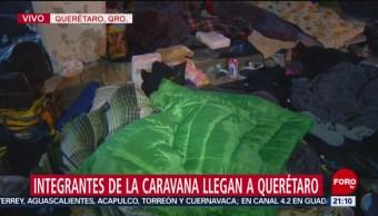 Migrantes Descansan Querétaro Previo A Su Salida Guanajuato
