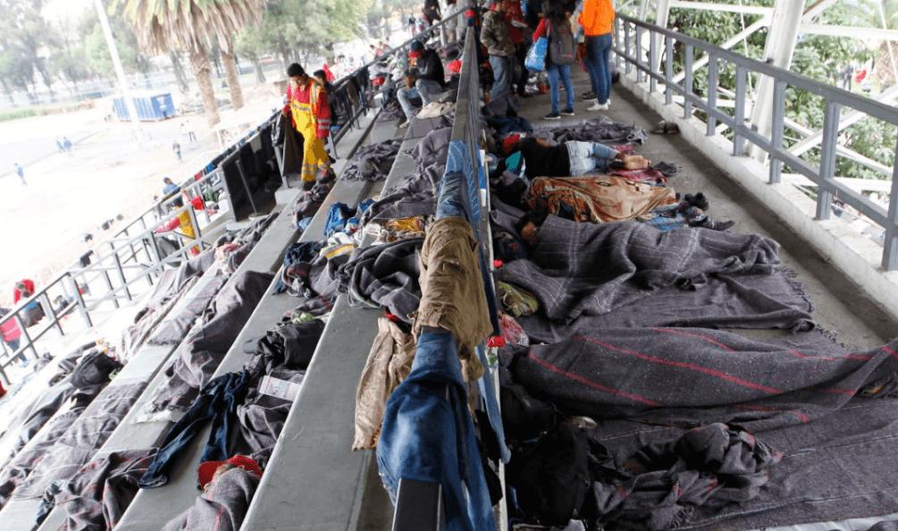 Caravanas de migrantes en CDMX, Puebla, Veracruz y Chiapas