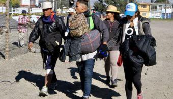 segunda caravana mas de mil migrantes llegan guanajuato