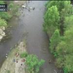 Migrantes llegan a Tapanatepec, Oaxaca