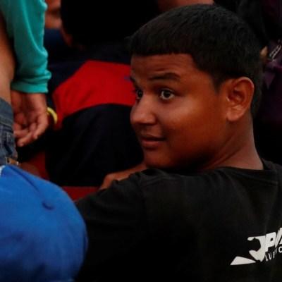 Menores migrantes centroamericanos también quieren llegar a EU