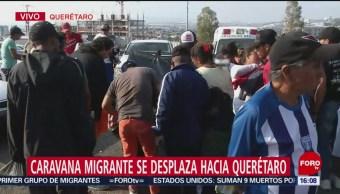 Migrantes reciben apoyos en albergue de Querétaro