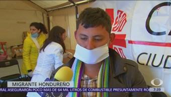 Migrantes reciben atención médica en CDMX; presentan problemas respiratorios