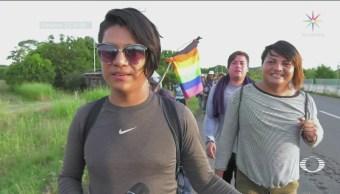 Migrantes Transgénero Viajan Ocultos Temor Agredidos
