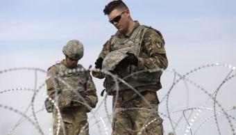 El Pentágono desplegará soldados en frontera sur de EU