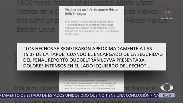 Muere Héctor Beltrán Leyva, líder del cártel con su nombre