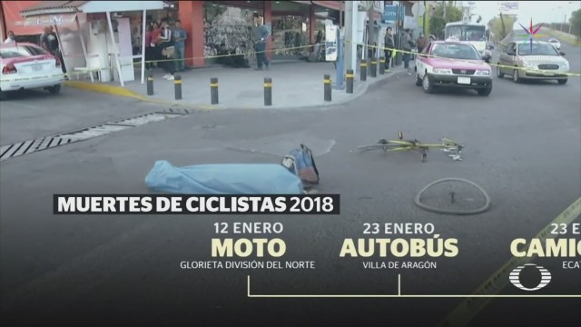 Mueren Dos Ciclistas Atropellados En Cdmx