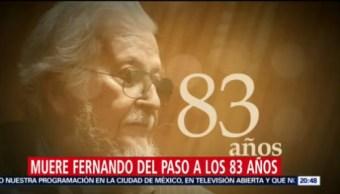 Murió A Los 83 Años Fernando Del Paso