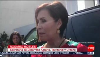No Necesito Ni Perdón Ni Amnistía: Rosario Robles
