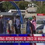 Refuerzan seguridad en albergue de caravana migrante en Tijuana