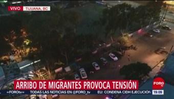 Se Prevé Arribo 9 Mil Migrantes A Tijuana