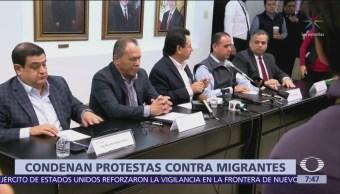 Organizaciones pro migrantes piden apoyo de CNDH ante odio contra centroamericanos