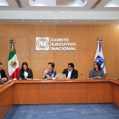 PAN realiza proceso interno para renovar su dirigencia nacional