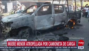 Familiares de niña atropellada en Los Reyes declara en el MP