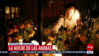 Pátzcuaro alista cementerio para realizar 'La Noche de las Ánimas'