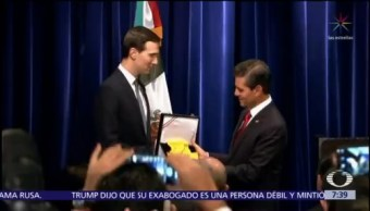 Peña Nieto entrega Órden del Águila Azteca a Jared Kushner