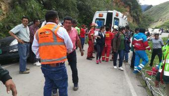 Mueren 7 miembros de equipo de futbol juvenil en accidente en Perú
