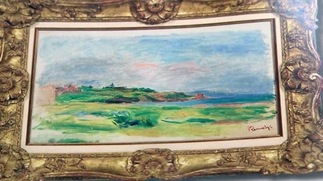 Roban pintura de Renoir en Viena; buscan a tres sospechosos