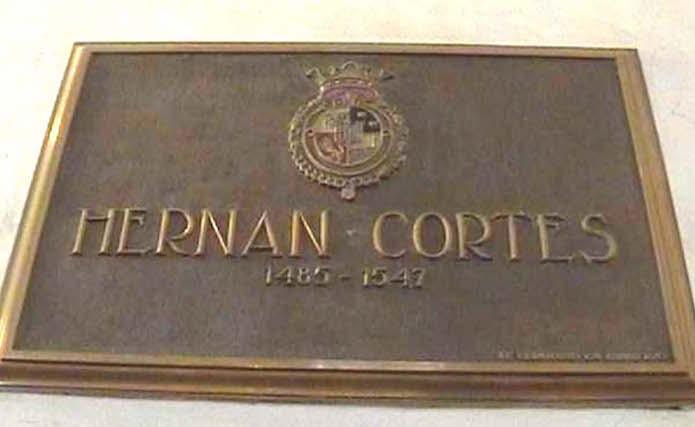 Resultado de imagen de sepultura de Cortes