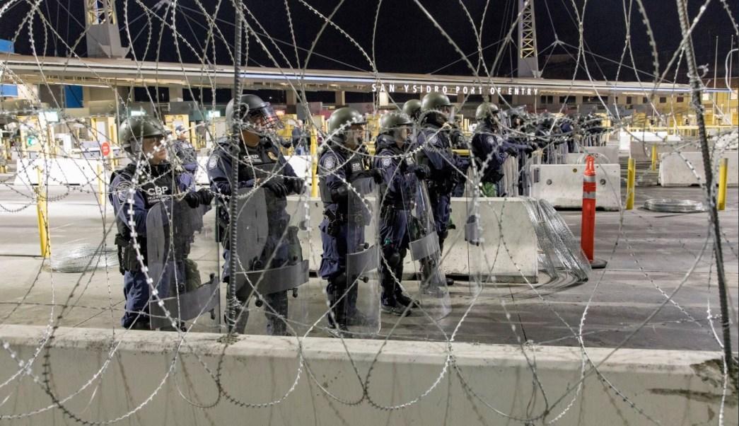 Policía de Estados Unidos realizará operativo en garita de San Ysidro