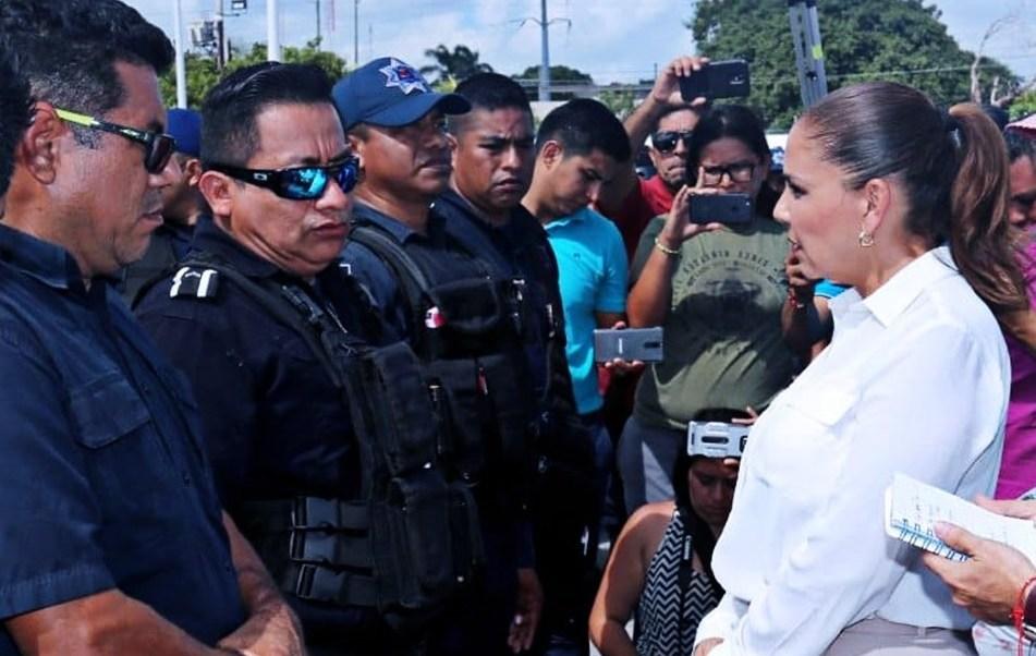 Seguridad Cancún; policías se adhieren al Mando Único