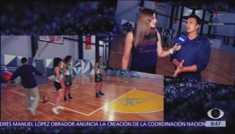 Ponte Fit: Mujeres entrenan basquetbol para ganar fuerza abdominal