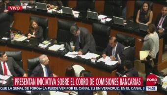 Presentan iniciativa contra cobro de comisiones bancarias