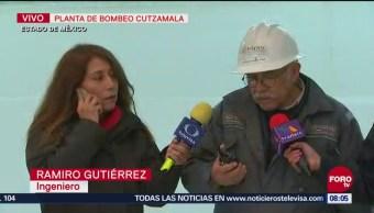 Reanudan Bombeo Agua Sistema Cutzamala