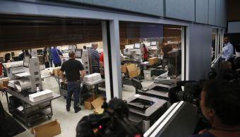 Inicia recuento de votos en oficinas electorales de Florida