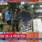 Refuerzan seguridad en el albergue de la Caravana Migrante en Tijuana, Baja California