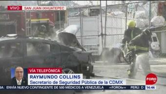 Reportan 50 policías declarados por los hechos en San Juan Ixhuatepec