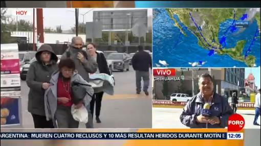 Reportan hasta menos 8 grados en regiones de Chihuahua