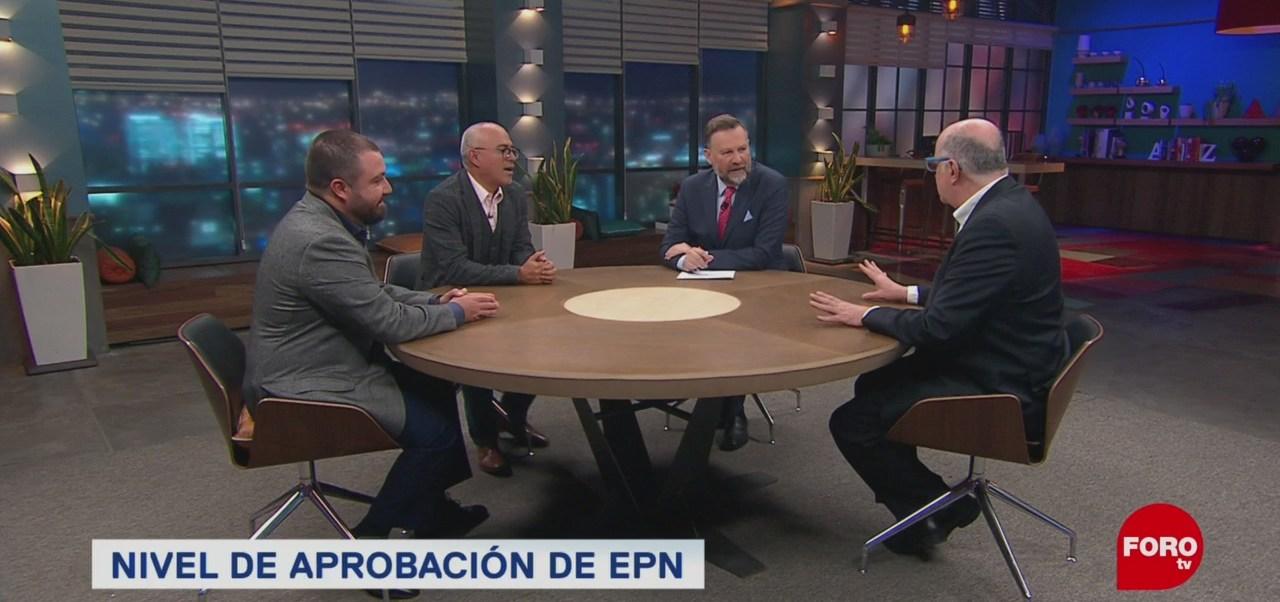 Nivel Aceptación Gobierno Enrique Peña Nieto