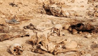 Irak: Halladas más de 200 fosas con restos de civiles