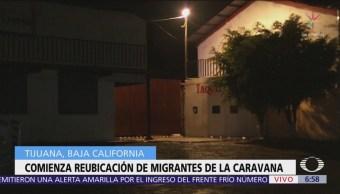 Reubican a migrantes en Tijuana ante saturación del deportivo 'Benito Juárez'