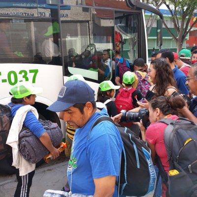 Caravana migrante se divide y avanza a Guanajuato, Jalisco y Aguascalientes