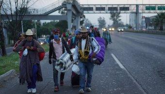 migrantes cambian ruta llegan san luis potosi