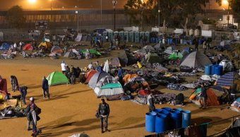 tijuana no se da abasto albergar migrantes