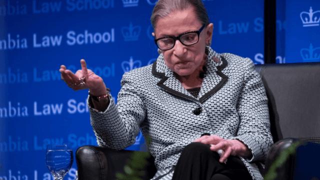 Ruth Ginsburg, magistrada de EU, es hospitalizada