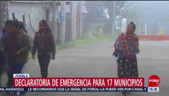 Heladas Afectan A Puebla Declaratoria De Emergencia 17 Municipios Puebla Heladas, Frio
