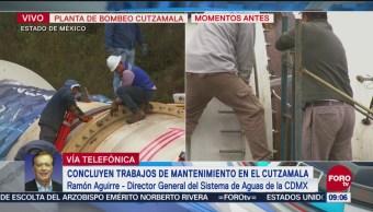 Sacmex Prevé Restablecimiento 100% Agua El Jueves