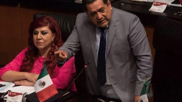 Foto: El senador Félix Salgado Macedonio, 24 enero 2019