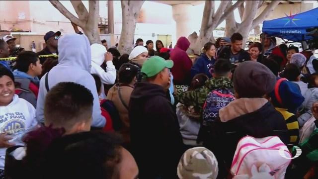Se Agrava Situación Migrantes En Tijuana