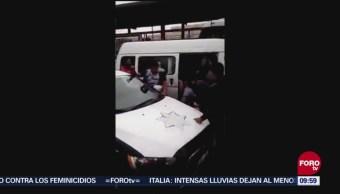 Se Viriliza Redes Sociales Video De Detención Asaltantes Edomex