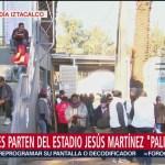 Segunda caravana migrante recibe desayuno en Magdalena Mixhuca