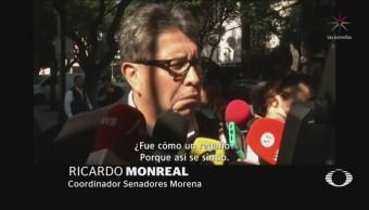 Senado Autónomo Iniciativa Comisiones Bancarias Adelante Monreal