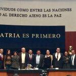 Senadores piden licencia para incorporarse a equipo de AMLO