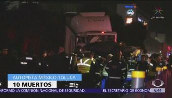 Siguen hospitalizadas 16 personas por accidente en Santa Fe