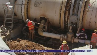 Sistema Cutzamala reanuda bombeo de agua al Valle de México