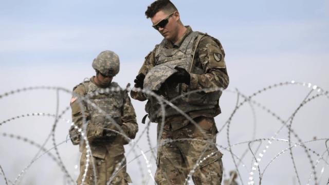 Pentágono: Sólo Policía Militar, armada en misión fronteriza
